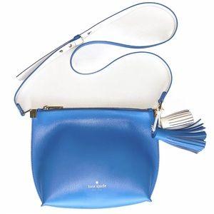 Kate Spade Crossbody Foster Court Pepper Blue Bag